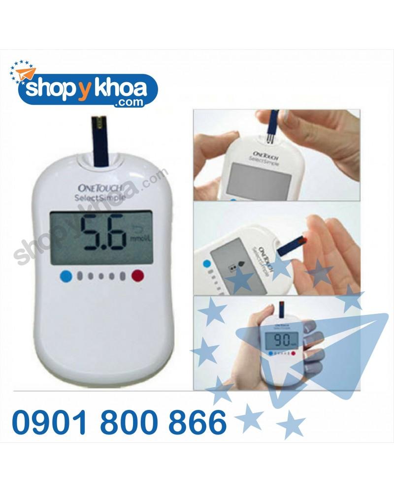 Máy đo đường huyết One Touch Select Simple_MG